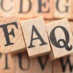 FAQ<よくあるご質問と回答集>
